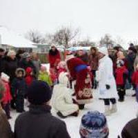 У Миргороді  тривають новорічні святкові дійства (фото)